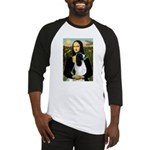Mona Lisa/English Springer Baseball Jersey
