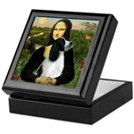 Mona Lisa/English Springer Keepsake Box