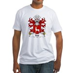 Bois Family Crest Fitted T-Shirt