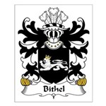 Bithel Family Crest Small Poster