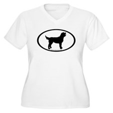 Labradoodle Oval T-Shirt