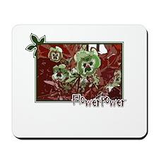 """TrellDesign """"Flowerpower"""" Mousepad"""