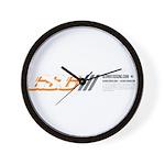 GS.C Abstract Wall Clock
