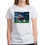 Lilies / Chinese Crested Women's T-Shirt