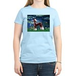Lilies / Chinese Crested Women's Light T-Shirt