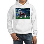 Lilies / Chinese Crested Hooded Sweatshirt