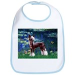 Lilies / Chinese Crested Bib