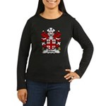 Billing Family Crest Women's Long Sleeve Dark T-Sh