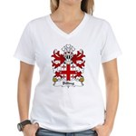 Billing Family Crest Women's V-Neck T-Shirt