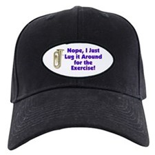 Tuba-I Just Lug it Around Baseball Hat
