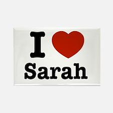 I love Sarah Rectangle Magnet