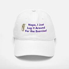 Tuba-I Just Lug it Around Baseball Baseball Cap