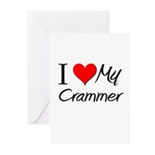I Heart My Crammer Greeting Cards (Pk of 10)