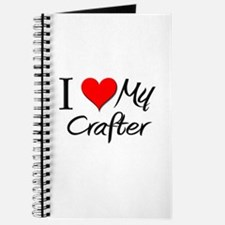 I Heart My Crafter Journal
