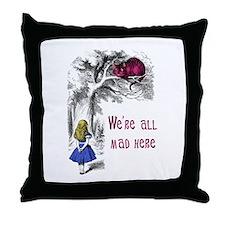 Cute Goth Throw Pillow