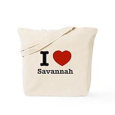 I love Savanah Tote Bag