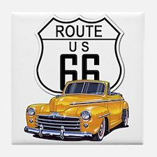 Route 66 Tile Coaster
