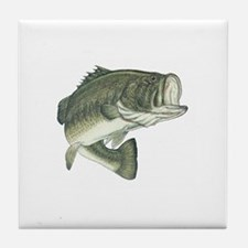 Lunker's Largemouth Bass Tile Coaster
