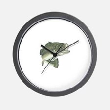 Lunker's Largemouth Bass Wall Clock