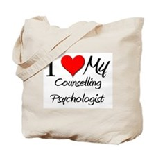I Heart My Counselling Psychologist Tote Bag