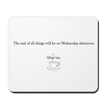 An English Apocalypse Mousepad