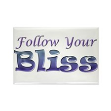 Follow Your Bliss Rectangle Magnet