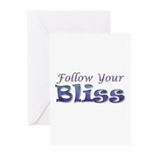 Follow Your Bliss Greeting Cards (Pk of 20)