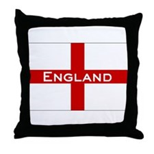 George Cross, England Throw Pillow