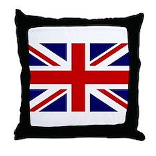 Unique England Throw Pillow