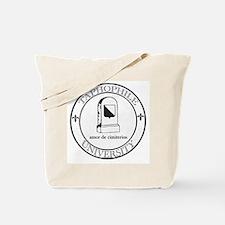 Taphophile University Tote Bag