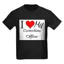 I Heart My Corrections Officer T