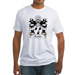 Bennet Family Crest Fitted T-Shirt