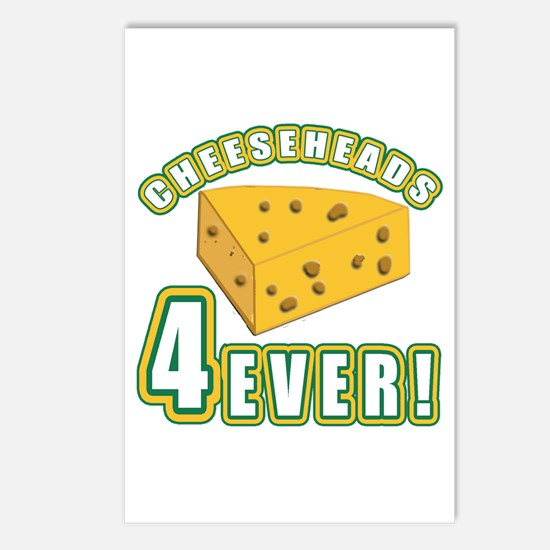 Cheeseheads Forever with Number 4 Postcards (Packa