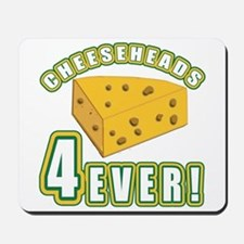Cheeseheads Forever with Number 4 Mousepad