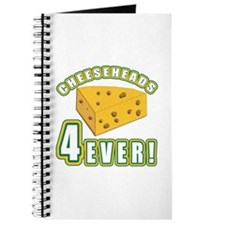 Cheeseheads Forever with Number 4 Journal