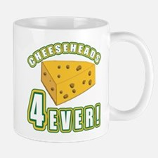 Cheeseheads Forever with Number 4 Mug