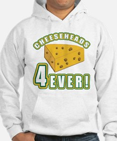 Cheeseheads Forever with Number 4 Hoodie
