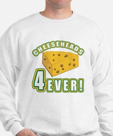 Cheeseheads Forever with Number 4 Sweatshirt