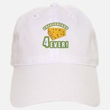 Cheeseheads Forever with Number 4 Baseball Baseball Cap