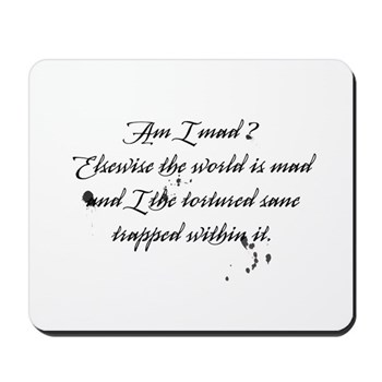 The Letters of Magdalen Montague Mousepad