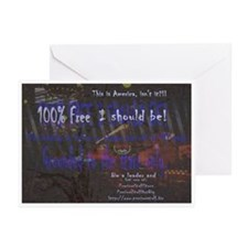 PSDB 100% FREE Greeting Cards (Pk of 10)