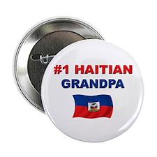 "#1 Haitian Grandpa 2.25"" Button"