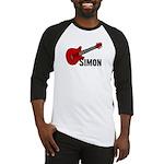 Guitar - Simon Baseball Jersey