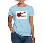 Guitar - Simon Women's Light T-Shirt