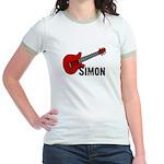 Guitar - Simon Jr. Ringer T-Shirt