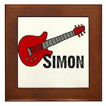 Guitar - Simon Framed Tile