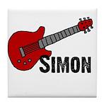 Guitar - Simon Tile Coaster