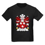 Bawdrep Family Crest Kids Dark T-Shirt