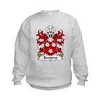 Bawdrep Family Crest Kids Sweatshirt