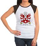 Bawdrep Family Crest Women's Cap Sleeve T-Shirt